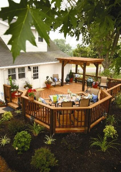 backyard deck plans innovative deck designs