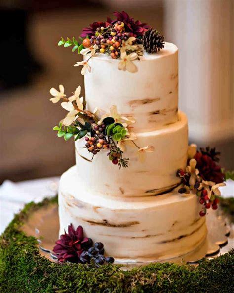 gateau de mariage automne pour une celebration sur
