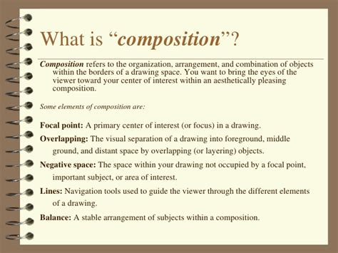 composition tips