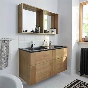 Les 25 meilleures idees concernant meuble double vasque for Salle de bain design avec rangement salle de bain castorama