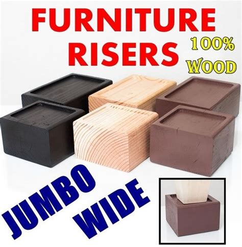 Wide Bed Risers furniture beds and storage on