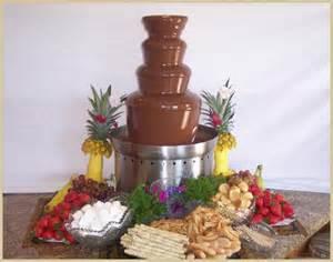 Chocolate Fountain Food