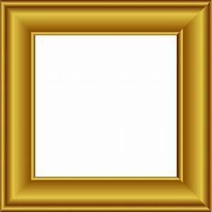 gold frame square 2 - /page_frames/more_frames/gold_frames ...