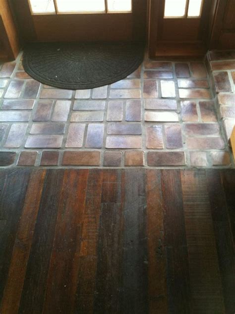 wixcom entryway flooring transition flooring brick