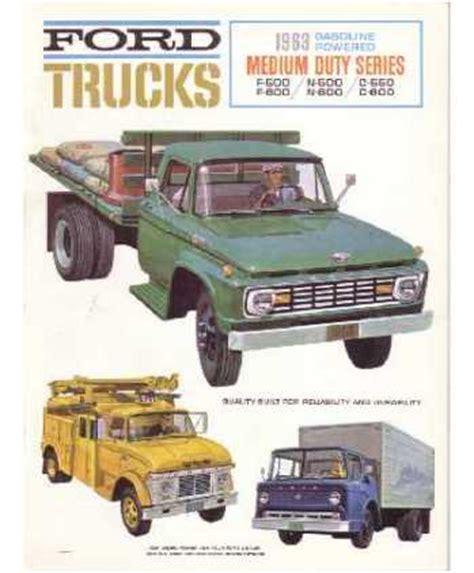 ford truck full  sales brochure