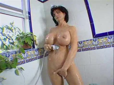 Deauxma Takes A Shower And Sucks A Cock Mature Porn