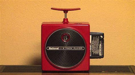 Ultra Rare Nationalpanasonic Rs8 Tnt 8 Track Tape Player