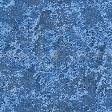 royal blue marble tile texture seamless