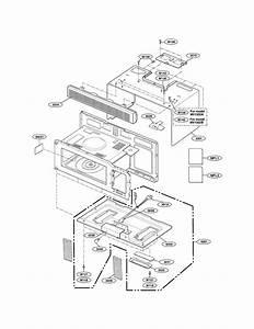 Goldstar Microwave  Hood Combo Parts
