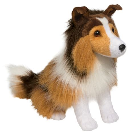 lassie the sitting collie stuffed by douglas at
