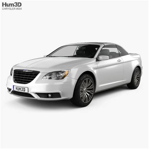 Chrysler 200 Convertible 2011 by Chrysler 200 Convertible 2011 3d Model Vehicles On Hum3d