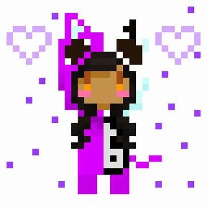 Aphmau Minecraft Honekoneko Pixel Fan Mcd Neonnyagic