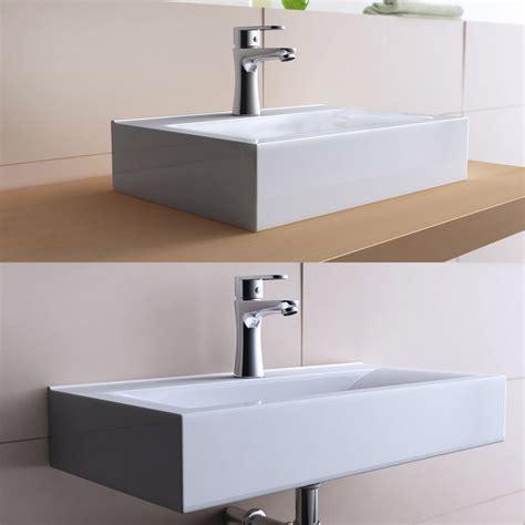 notre avis sur la vasque 224 poser rectangulaire design bruxelles