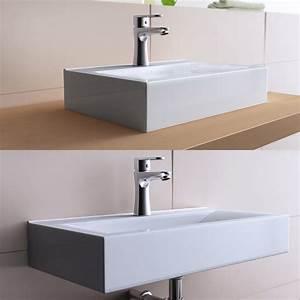 Lave Main Rectangulaire : vasque poser rectangulaire design bruxelles notre avis ~ Premium-room.com Idées de Décoration