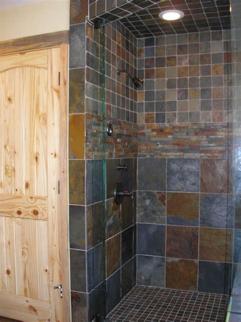 slate tile bathroom designs slate tile shower