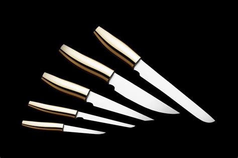 Luxury Kitchen Knives by Mj Luxury Exclusive Tableware Cutlery Handmade
