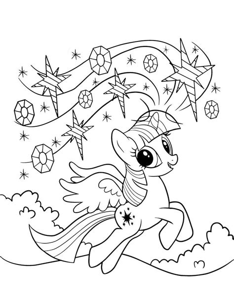 twilight sparkle coloring pages    print