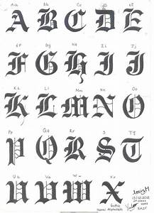 25 best ideas about gothic alphabet on pinterest black With old english gothic letters