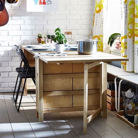 dining chairs ikea 25 ways to use ikea norden gateleg table in décor digsdigs
