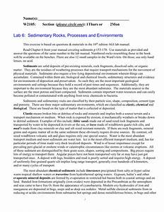 Activity 6 5  Sediment Analysis  Classification And