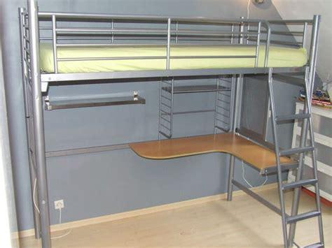 lit mezzanine bureau blanc lit mezzanine bureau occasion clasf