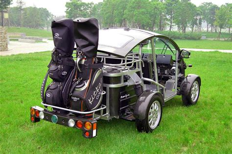 Say Hello To The New Fleet Of Electric Golf Carts