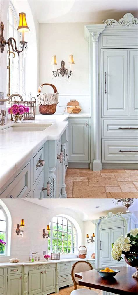 25 Gorgeous Paint Colors For Kitchen Cabinets (and Beyond