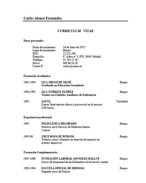 Como Hacer Un Curriculum Vitae  Hazlo Tu Mismo  Taringa. Resume Objective Examples When Changing Careers. Resume Skills Not Proficient. Basic Letter Of Resignation Sample. Cover Letter Customer Service Jobs Examples. Curriculum Vitae Vorlage 2018. Form Quotation Letter. Cover Letter Template For Telecom Job. Letterhead Design In Word