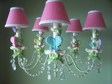 Beautiful Romantic Chandeliers For Girls' Room