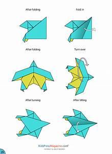 Paper Airplane Instructions  U2013 Eagle