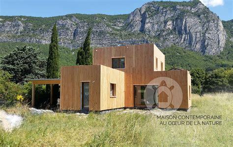 maison ossature bois drome natur 233 al maisons en bois sur mesure en dr 244 me ard 232 che is 232 re et vaucluse la maison bois par