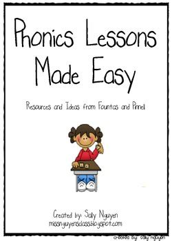 Phonics Lessons Made Easy Kindergarten By Sally Nguyen Tpt