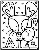 Coloring Pond Library Sheets Dibujos Riscos Preschool Desenhos Drawings Pintar Colouring Colorir Arte Rats Souris Imprimir Printable Colorear Animals Ratinhos sketch template