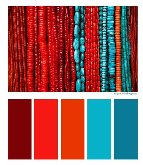 Red And Turquoise Color Scheme, Red, Free Engine Image For