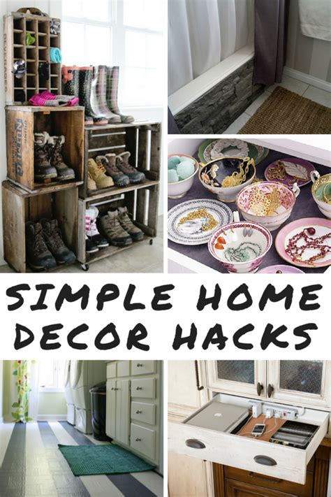 home design hacks 9 simple home decor hacks mom spark mom blogger