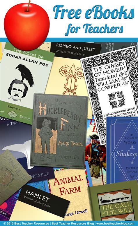Free Ebooks For Teachers  Best Teacher Resources Blog