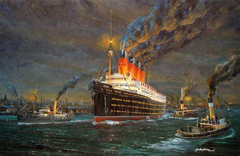Marine Painting - Artist Gordon Frickers