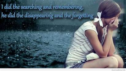 Sad Quotes Wallpapers Very Emotional Quote Alone