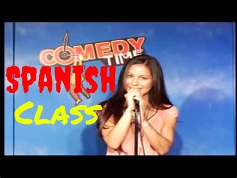 What Does Jg Stand For by Spanish Class Anjelah Johnson Comedy Time Funny