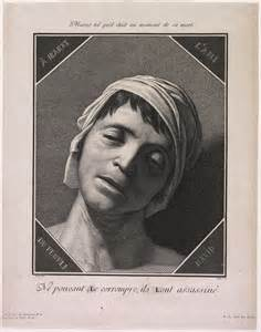 print number line from the harvard museums collections jean paul marat