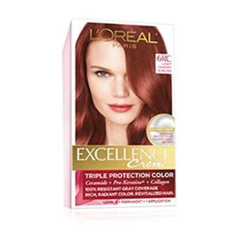 permanent red hair color red hair dye loreal paris