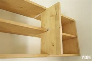 Assembler 2 Planches Perpendiculairement : diy fabrication d 39 une tag re simple ~ Premium-room.com Idées de Décoration