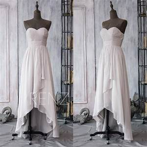 2015 gray white bridesmaid dress high low wedding dress for High low halter wedding dress