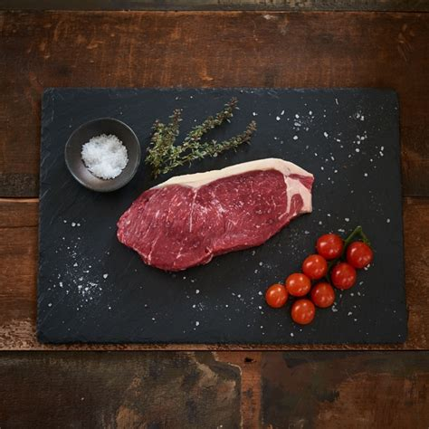 Dry aged and grass fed the sirloin steak is arguably the king of all steaks. Dry-Aged Sirloin Steak - Scott Brothers Butchers