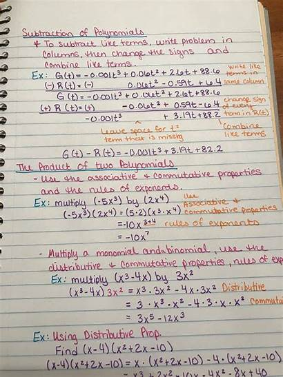 Notes Algebra Wife
