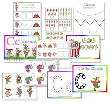 clown activities for preschoolers c is for clown free preschool printables confessions of 966