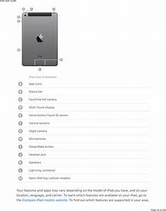 Apple A1822 Tablet Device User Manual Ipad User Guide
