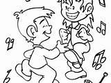 Coloring Dance Jazz Boy Dancer Dancing Getdrawings Getcolorings Printable Colorings sketch template