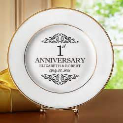 anniversary plates personalized personalized anniversary gifts ideas at personal creations