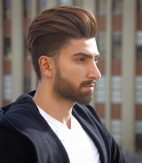 mens undercut   high volume backcombed pompadour